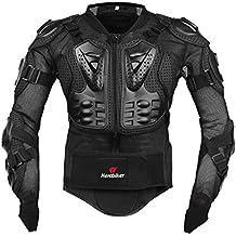 Professionale armatura Motocross Giacca da Moto Mountain Ciclismo Racing pattinaggio dorso proteggi schermo popolare, donna Uomo, Black, XL