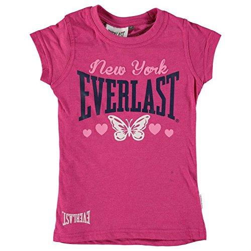 Everlast-Maglietta ragazza Top maglietta Sport tempo libero 122134140152158Kids Pink, rosa, 152