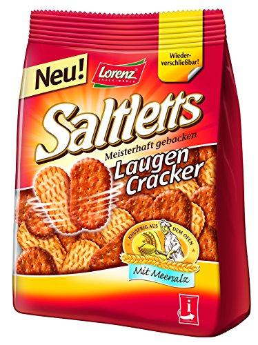 Lorenz Saltletts Laugencracker, 150 g - Cracker