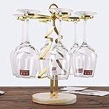 Zzsyso Marmor Weinglas Halter Dekoration Display Rack Wein Flaschenregal Nordic Home Upside Down Becher Rack Wein Tablett Wein Set Wohnzimmer Weinschrank Indoor Desktop Küchentisch