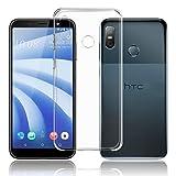 TopACE HTC U12 Life Hülle, TPU Hülle HTC U12 Life Schutzhülle Durchsichtig Klar Silikon transparent für HTC U12 Life (Transparent)