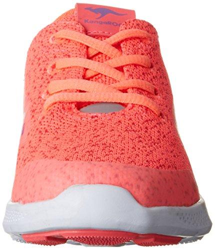 KangaROOS K-v I, chaussons d'intérieur femme Pink (Hot Coral/Magenta)
