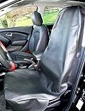 Kunstlederbezug Werkstattschoner Sitzschoner universell passend für KFZ, Vans, SUV, Transporter und Geländefahrzeuge