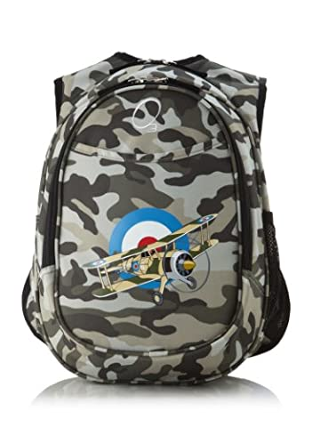 O3 Kids Pre-School All-In-One Backpack With Cooler Camo