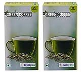 #9: Healthy Tree Green Coffee, 100 g (Pack of 2, 25 Coffee Bags Each)