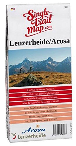 Singletrail Map 102 Lenzerheide/Arosa (Davos Single Davos)