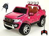 Kinderauto Kinderelektroauto Kinderelektrofahrzeug Kinder elektroauto 12V Orginal Ford Ranger Luxus RC Rosa