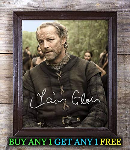 Jorah Mormont Fictional Character Autographed Signed 8x10 Photo Reprint #71 Special Unique Gifts Ideas for Him Her Best Friends Birthday Christmas Xmas Valentines Anniversary Fathers Mothers ()