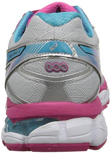 Asics Womens Gel Evate 3 Running Shoe Lightning/Hot Pink/Blue