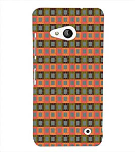 Print Masti Designer Back Case Cover for Microsoft Lumia 550 (Dotted Line Green Camera Roll)