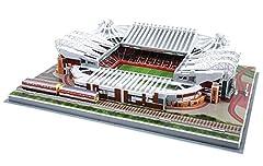 Idea Regalo - Giochi Preziosi 70002111 - Puzzle 3D Stadio Old Trafford Manchester United, 186 pz., 7+ Anni