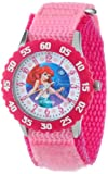 Disney Kids' W000867 Ariel Stainless Steel Time Teacher Watch With Pink Nylon Band best price on Amazon @ Rs. 5363