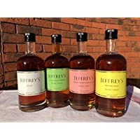 Selection of Jeffrey's Tonic Syrups, 250ml