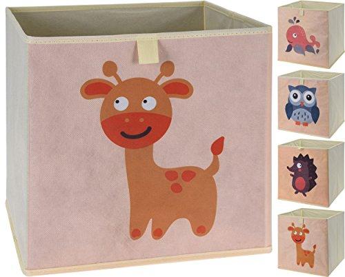 Truhen Jungen Für Spielzeug (Faltbare Aufbewahrungsbox mit Tiermotiven | 4er Set)
