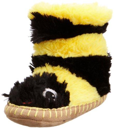 Hatley Kids Slouch Sl3inbg002, Chaussons mixte enfant Jaune - Bee