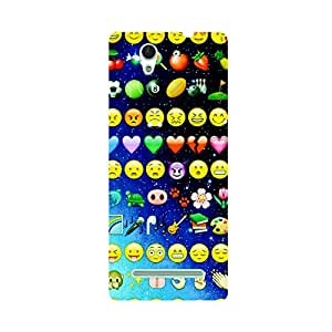 Phone Candy Designer Back Cover with direct 3D sublimation printing for Sony Xperia C3 Dual