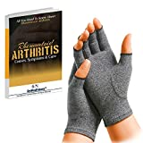 Best Arthritis Gloves - Rheumatoid Arthritis Gloves SyeNazFitness Fingerless- Warmth Therapeutic Compression Review