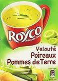 Royco Soupe Déshydratée Velouté de Poireaux Pommes de Terres 4 Sachets de 20 cl - 53,6 g