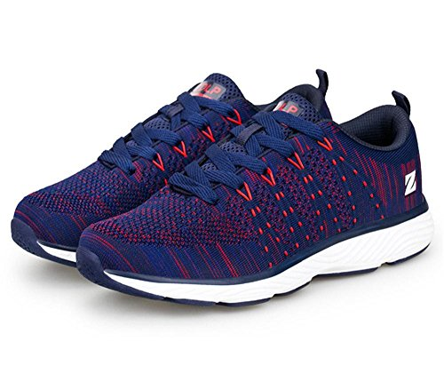 Men's Mixed Colors Zapatillas Breathable Running Shoes blue