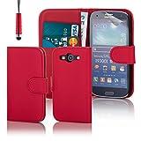 32nd Flip Luxe golpes, con función atril, con S View, para Samsung Galaxy S3I9300 - - Book - Red Samsung Galaxy S3