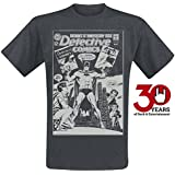 Batman 30th Anniversary Camiseta Gris oscuro