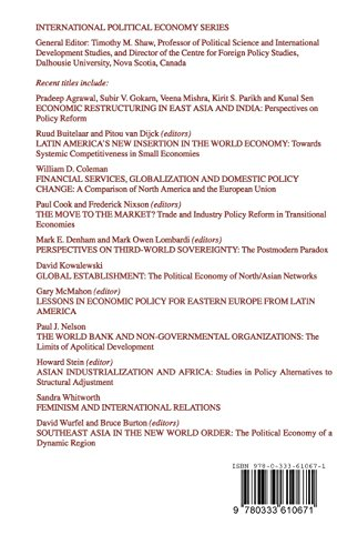 Social Reconstructions of the World Automobile Industry: Competition, Power and Industrial Flexibility (International Political Economy Series)