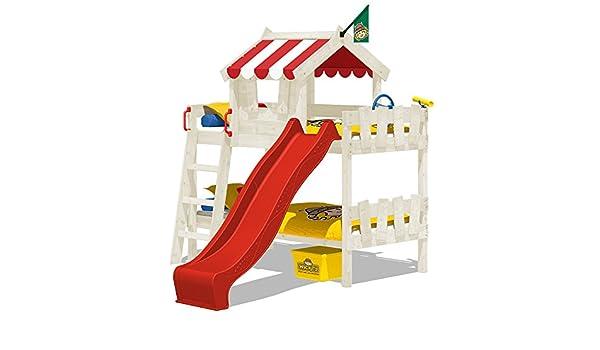 Etagenbett Mit Rutsche Wickey Crazy Circus : Wickey etagenbett crazy circus kinderbett hochbett mit rutsche