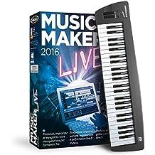 MAGIX Music Maker 2016 Control - USB keyboard and music software
