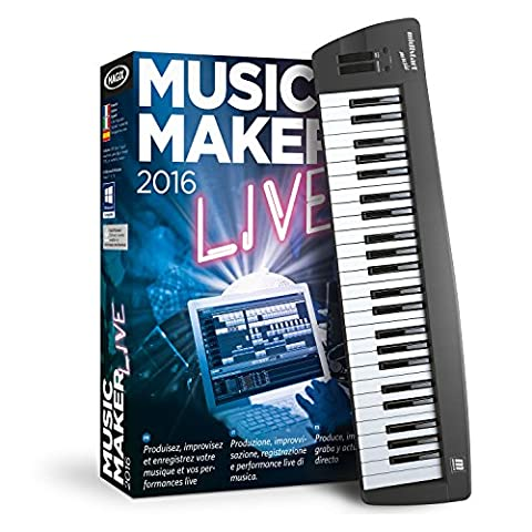 MAGIX Music Maker 2016 Control - USB keyboard and music