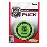 Franklin Streethockeypuck Franklin NHL Glow In The Dark Puck - Blister - Pelota / Disco de hockey sobre patines, color verde
