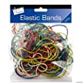 Just Stationery Coloured Elastic Bands by Just stationery
