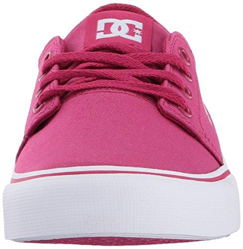 DC Trase TxBkw Jungen Sneakers Himbeere
