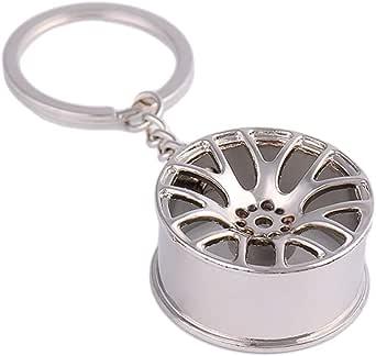 Ggaggaa Autoteile Schlüsselanhänger Motor Hub Ventil Kolben Motor Drehen Schlüsselring Bekleidung