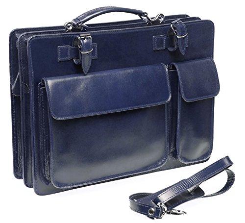 Bags4Less Unisex-Erwachsene Mondial Laptop Tasche, Blau (Blau), 10 x 30 x 40 cm