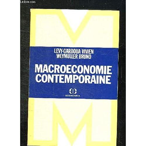 Macroéconomie contemporaine (1ere édition)