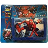 SPIDER-MAN Watch and Wallet Set
