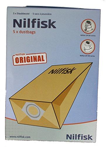 Nilfisk Genuine GS80, GS90, GM80, GM90 Vacuum Bags by Nilfisk
