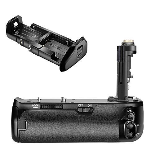 Neewer Pro Kamera Ersatz Batteriegriff für Canon BG-E21, Canon 6D Mark II DSLR Kamera, Arbeit mit einem oder zwei LP-E6 Lithium-Ionen-Akku (Batterie nicht im Lieferumfang enthalten)
