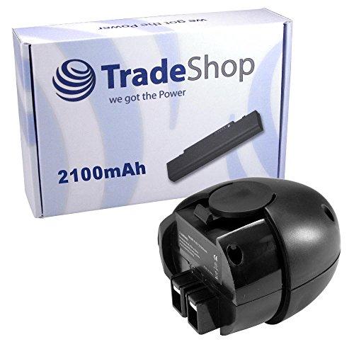 Preisvergleich Produktbild TradeShop Premium Werkzeug Akku Ni-MH 4,8V / 2100mAh für Metabo Powergrip 2 II Powermaxx Powergrip Flashlight Power Grip 2 II Powergrip2 6.00063.50 6.02410.50 6.00064.50 6.27000.00 ersetzt 6.27270 6.27271 6.27273 6.31858 60005952 631858000