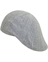 EveryHead Hombre Flatcap Gorra Plana Gorro De Pantalla Con Visera Sombrero Del Verano Casquillo Los Deportes Un Color Para… Iiko5u