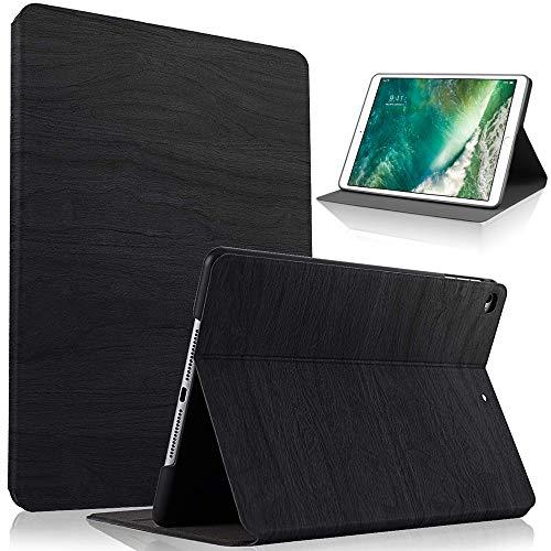 HBorna 360° Hülle für iPad 9.7 Zoll 2018 2017 / Air2 [Auto Schlaf/Wach Funktion], Schutzhülle Tasche mit Leichte Ständer für 9,7 Apple iPad 2018/2017 / iPad Air 2 / iPad Air, Schwarz