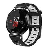 KANEED Smartwatch M10 0,95 Zoll OLED-Farbbildschirm Bluetooth 4.0 Smart-Armband Fitness Tracker, IP67 wasserdicht, Unterstützung für...