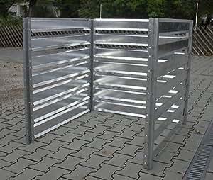 erweiterungs set f r metall komposter 1200 l k che haushalt. Black Bedroom Furniture Sets. Home Design Ideas