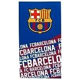Barcelona F.C. Official - Toalla, diseño de rayas y escudo de F.C. Barcelona