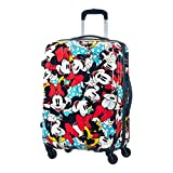 Samsonite American Tourister Disney Legends Spinner Valigia, 65 cm, 52 litri, Minnie Comics