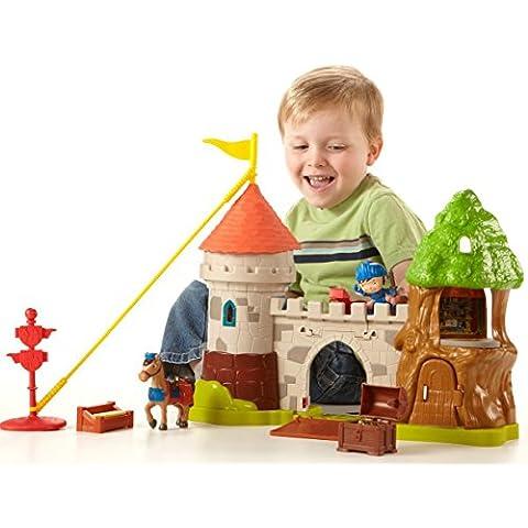 Fisher Price BCT44 Mike el Caballero - Castillo de Glendragon y figuras