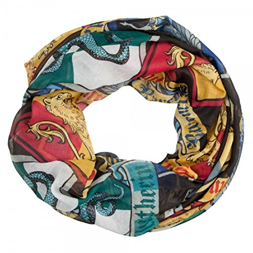 tter Hogwarts-Haus Kämme Mode Schal - Womens Damen Accessoires ()