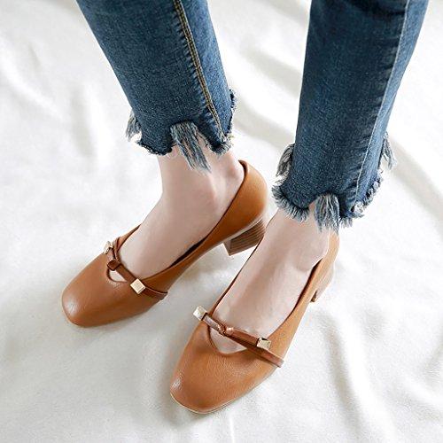 Sandales romaines rétro féminin Chaussures de mode Marron