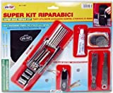 Super Bike Repair Kit mit Multi Werkzeug und Tasche