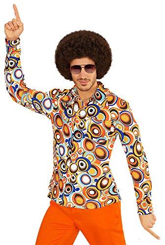 NEU Herren-Kostüm Hemd, Bubbles, Gr. L-XL (70 Stil Kostüme)